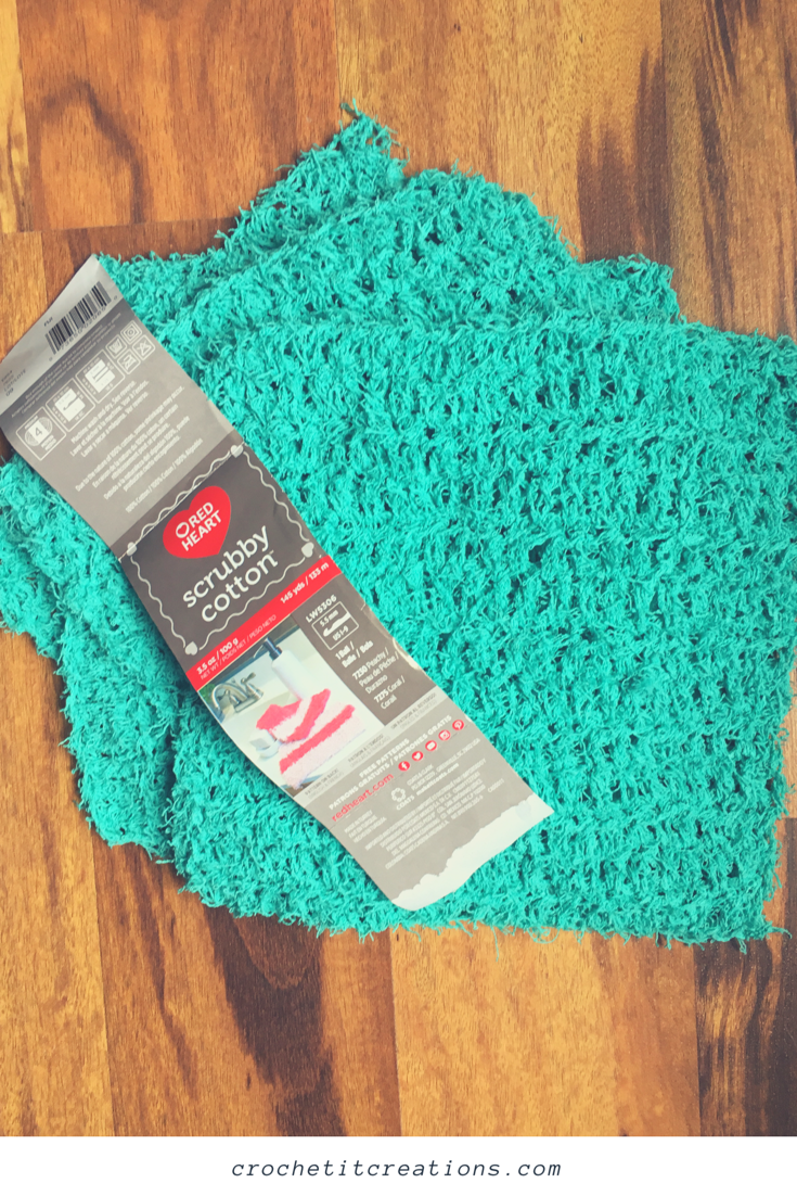 Scrubby Sweeper Cover Crochet Pattern Crochet It Creations