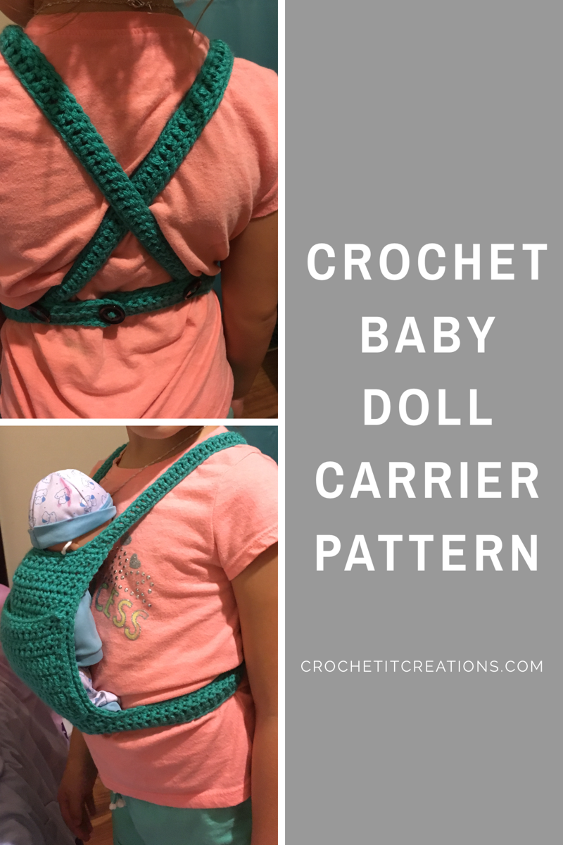 Baby Doll Carrier Crochet It Creations