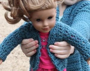 Free Crochet Doll Pattern- The Friendly Grace - thefriendlyredfox.com | 235x300