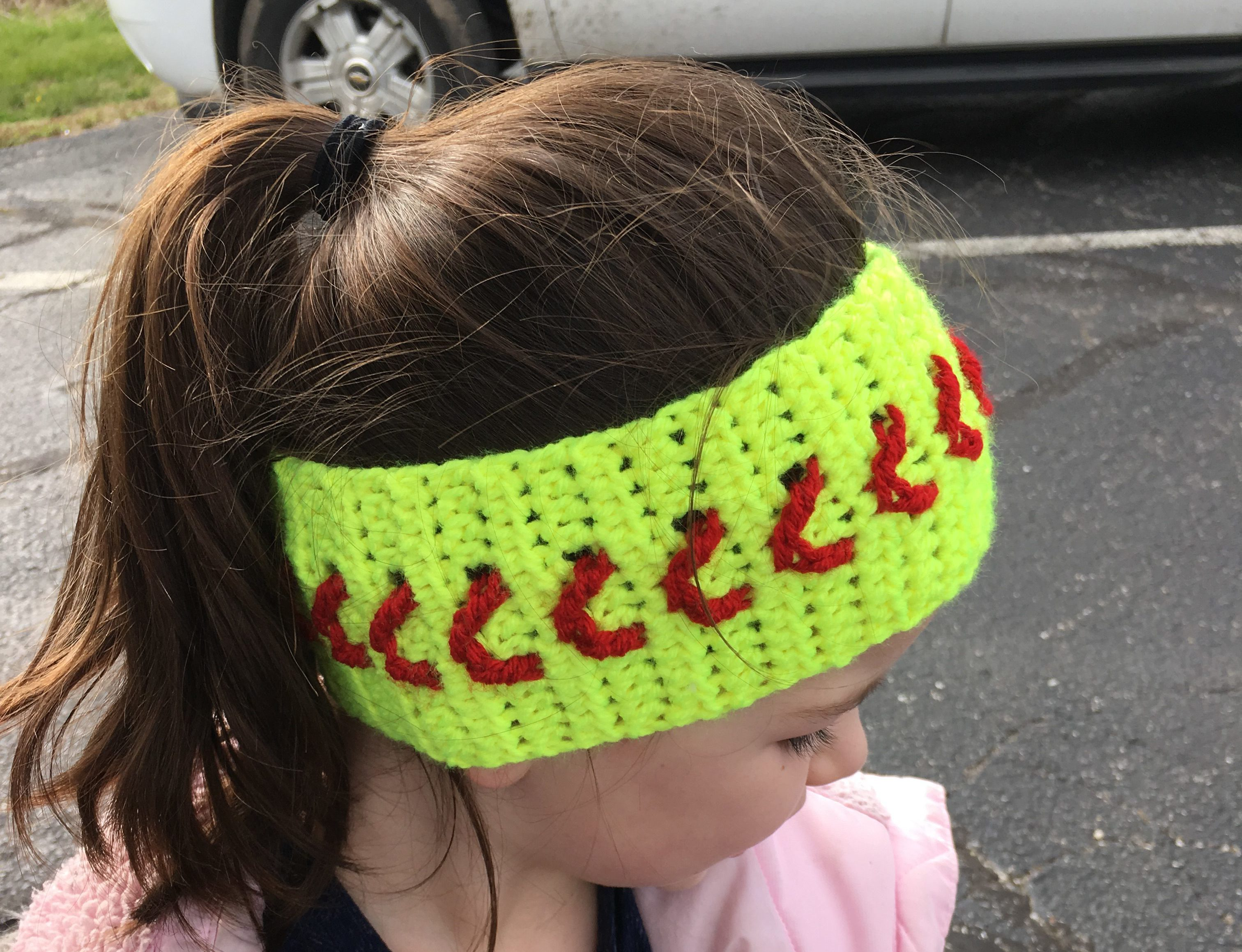 Baseball Softball Ear Warmer Crochet Pattern - Crochet it Creations