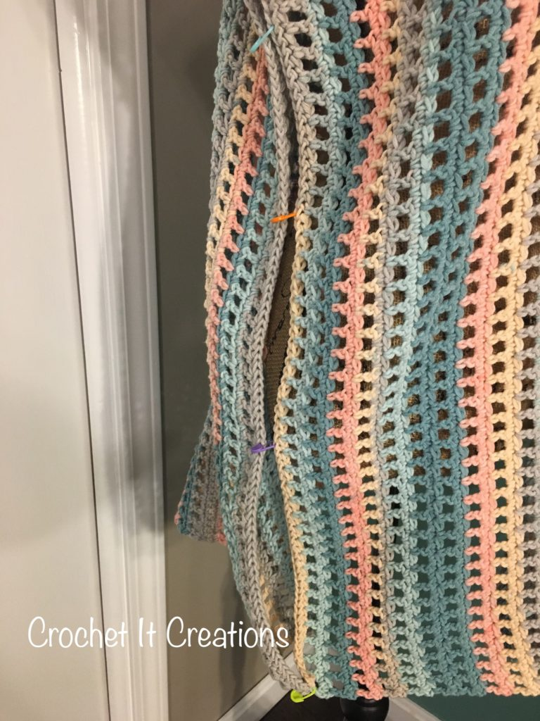 Tied Swimsuit Cover Up Crochet Pattern in Child Sizes by Crochet It
