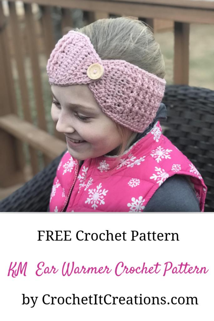 Km Ear Warmer Crochet Pattern Crochet It Creations