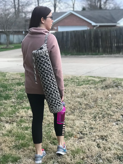 Yoga Mat Bag Crochet Pattern Crochet It Creations