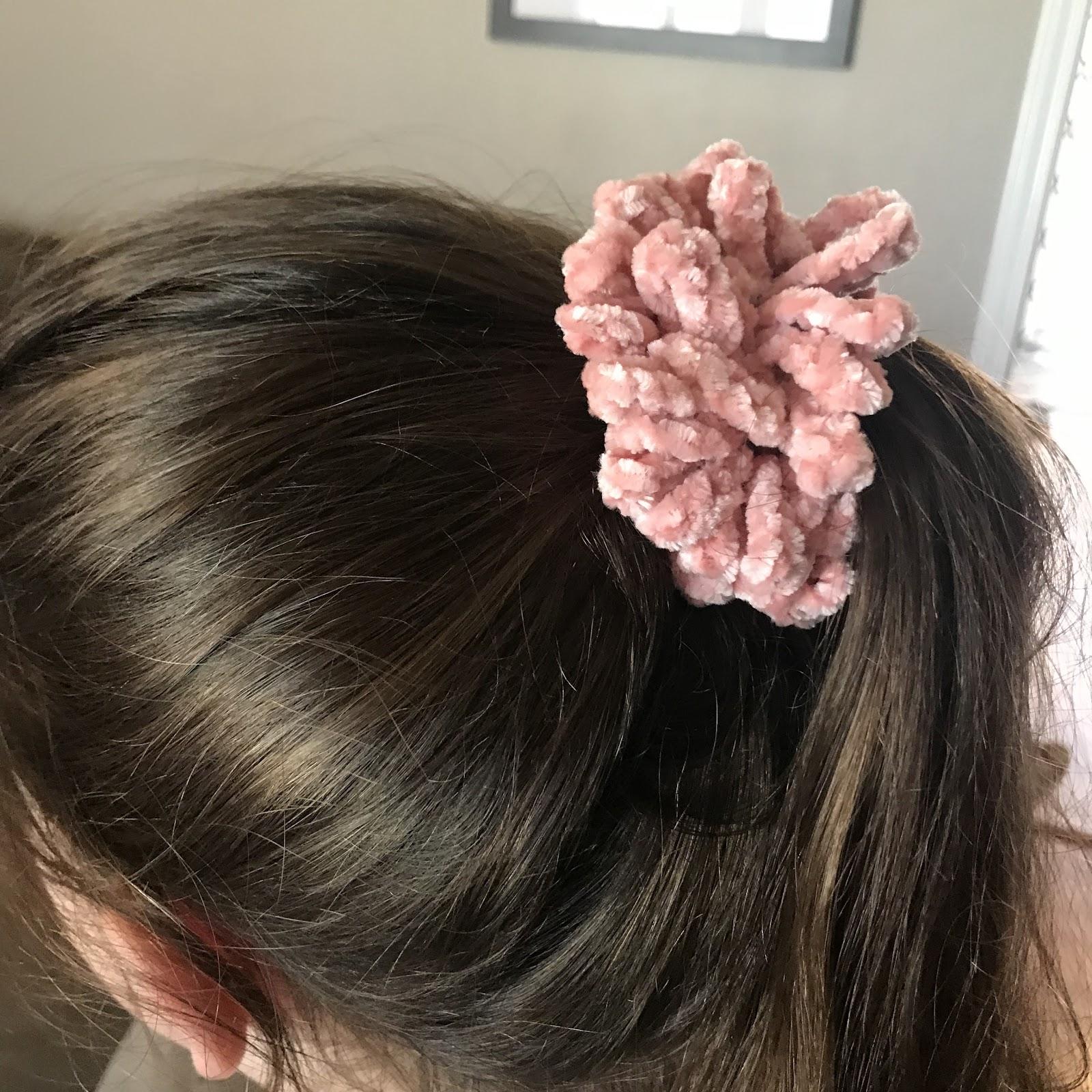 Crochet Scrunchies Hair Scrunchies Velvet Scrunchies